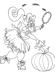 french maid halloween coloring pages adults