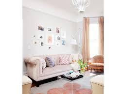 Modern Moroccan by Living Room Coddington Design Silk Curtains White Ottomans Blush