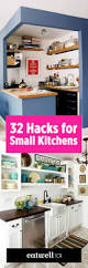 25 best small kitchen designs ideas on pinterest small kitchens 32 brilliant hacks to make a small kitchen look bigger