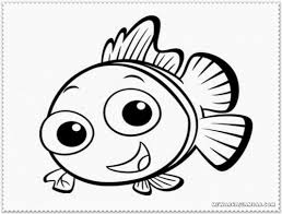 clown fish coloring pages printable free printable kids coloring