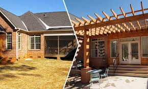 house review outdoor living spaces professional builder outdoor living pool houses outdoor fireplaces more charlotte nc