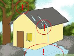 How To Build A Shed Roof House by How To Build A Roof With Pictures Wikihow