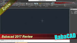 Professional Home Design Software Reviews Babacad 2017 Free Cad Software Review Youtube