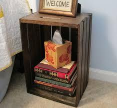 best 25 crate nightstand ideas on pinterest diy nightstand
