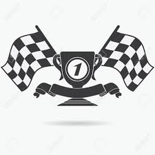 Images Of Racing Flags Flag Icon Checkered Or Racing Flags First Place Prize Cup And