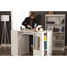 south shore crea counter height craft hobby sewing machine table