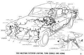 65 Mustang Dash Wiring Diagram 1966 Mustang Instrument Panel