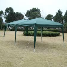 Steel Pop Up Gazebo Waterproof by 3x6m Pop Up Gazebo Wedding Party Tent Canopy Marquee Waterproof W