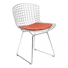 Bertoia Dining Chair Bertoia Side Chair With Seat Pad The Conran Shop