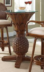cancun palm end table cancun palm pineapple pub table