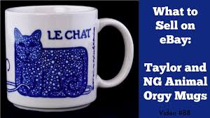 best coffee mugs to sell on ebay taylor and ng mugs youtube