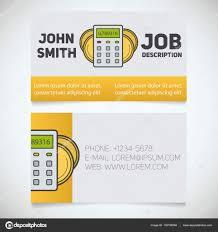 business card print template u2014 stock vector bsd 132198084