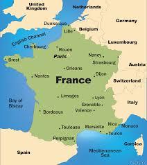 Bordeaux France Map Download Map Pf France Major Tourist Attractions Maps