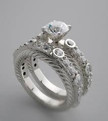 unique wedding ring sets unique engagement rings jwartgallery