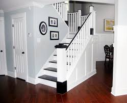 Best Paint For Stair Banisters Painted Wood Stair Remodel Remodelaholic