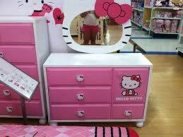 bedroom hello kitty toddler bed with storage bedside shelf hello