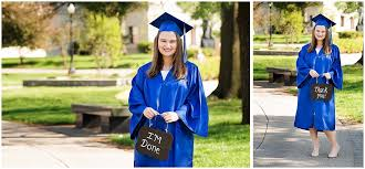cap and gown for high school maddi capital high school cap gown session broyles