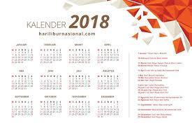 Kalender 2018 Hari Raya Idul Fitri Kalender 2018 Hari Libur Nasional