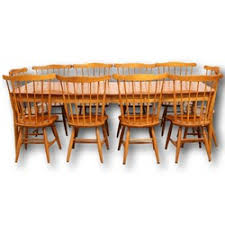 Shaker Style Dining Table And Chairs Dining Table With Chairs Upscale Consignment