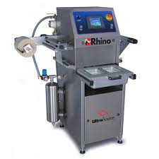 rhino 4 tray sealing machine for food and non food products
