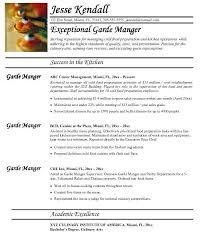 Chef Resume Templates by Chef Resume Templates Chef Resume Sle Jobsxs