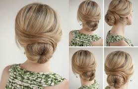hairstyles with a hair donut 4 super easy hairstyles for work with a donut bun pinkfo