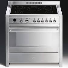 Smeg 110 Gloss Black Induction Smeg Gas Range Cooker Home Safe