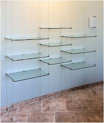 suspended glass shelf 18 in hanging glass shelf hardware ceiling