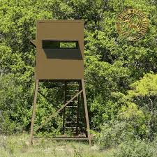 Elevated Bow Hunting Blinds 5x5 Deer Blinds For Sale Elevated Deer Blinds Texas Wildlife