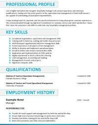 sle resume for cleaning supervisor responsibilities restaurant hotel resume sles front desk clerk exles management trainee