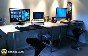 ikea computer desk hack ikea computer desk hacks we deskgram pro tandemdesigns co