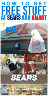 how to get free stuff at sears and kmart the krazy coupon lady