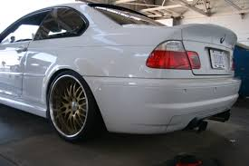 modified bmw white modified bmw e46 m3 6 1 madwhips