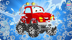 monster truck videos monster trucks car wash monster trucks for children monster