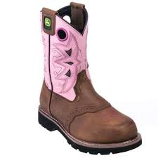 s deere boots sale deere boots s jd3715 brown pink leather cowboy boots