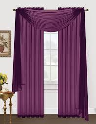 monique sheer voile window scarf u2013 editex home textiles