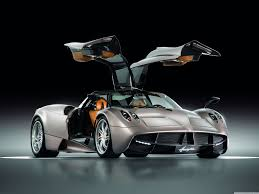 maserati pagani pagani huayra gunmetal front side view 4k hd desktop wallpaper