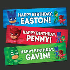14 pj masks birthday images mask party