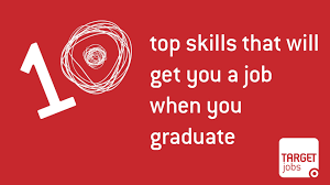 10 top skills that will get you a job when you graduate youtube
