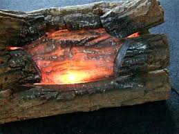 Artificial Logs For Fireplace by Electric Fire Logs With Crackling Sound On Ebay Now Youtube