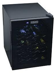 amazon com koolatron wc20 mirrored glass door wine cellar 20