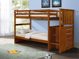 Bunk Bed With Storage Stairs Bunk Bed With Storage Stairs And Built In Dresser