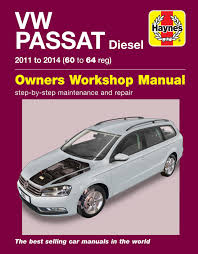 volkswagen passat diesel 11 14 60 to 64 haynes repair manual