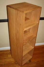 Fine Woodworking Bookshelf Plans by Woodworking Plans Rotating Bookshelf With Creative Example In