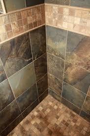 rustic slate look bathroom