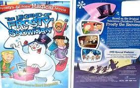 legend frosty snowman dvd free ship original tv