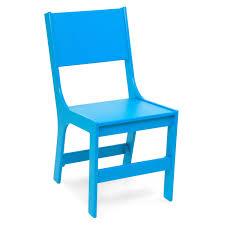 chaise plastique enfant chaise de salle à manger contemporaine pour enfant 100 recyclée