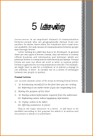 Formal Letter Format Template by 6 Formal Letter Format Cbse Financial Statement Form