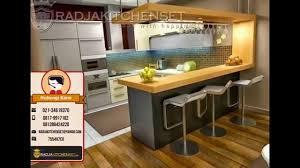 Kitchen Set Minimalis Hitam Putih Jasa Pembuatan Kitchen Set Aluminium 081389424220 Youtube