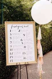 wedding table assignment board wedding assigned seating ideas 7 unique seating chart ideas